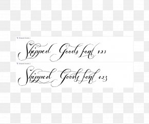 Calligraphy Handwriting Script Typeface Font PNG