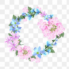 Vector Wedding Flowers - Wedding Invitation Flower Greeting Card Wreath PNG