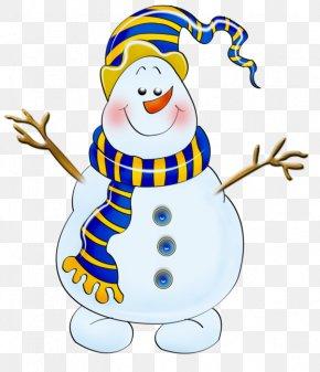 Christmas - Ded Moroz Snegurochka Christmas Snowman Clip Art PNG