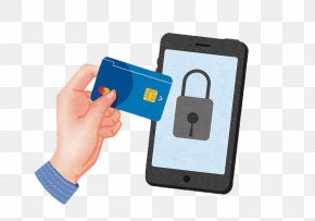 Hand Drawn Mobile Credit Card - Smartphone Google Images Dial-up Internet Access Password PNG