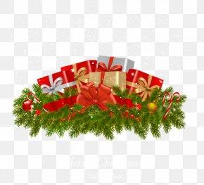 Vector Material Christmas Gift - Gift Christmas PNG