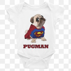 T-shirt - Baby & Toddler One-Pieces T-shirt Pug Sleeve Scoop Neck PNG