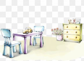 Interior Design Small Table - Drawing Interior Design Services Home Paper Wallpaper PNG