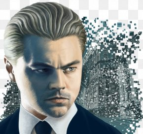 Leonardo Dicaprio - Leonardo DiCaprio Inception Drawing Film PNG