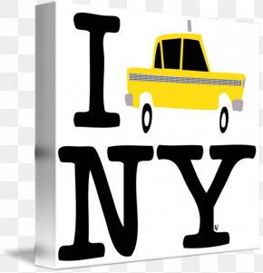 New York Taxi - New York City T-shirt I Love New York Printing PNG