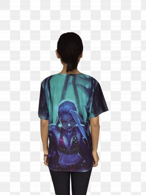 T-shirt 3d - T-shirt Hoodie Handbag League Of Legends Sweater PNG