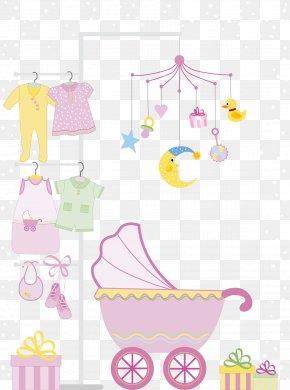 Vector Child Room - Baby Shower Infant Wedding Invitation Clip Art PNG