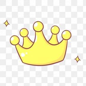 Floating Cartoon Crown - Cartoon Icon PNG