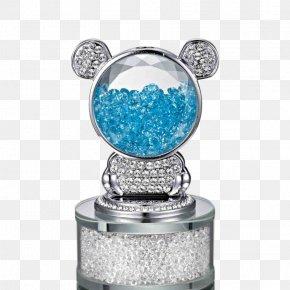 Bear Light Blue Front Car Perfume - Car Blue Perfume PNG