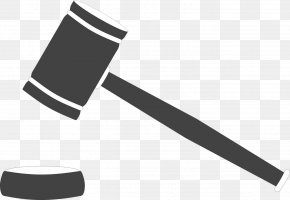 Hammer - Gavel Judge Court Lawyer PNG