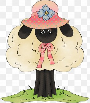 Lovely Sheep - Royalty-free Clip Art PNG