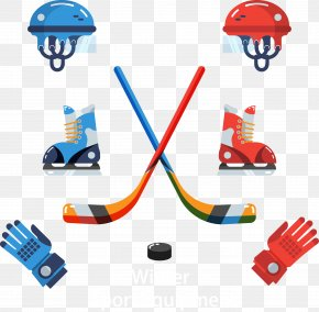 Hockey Equipment - Ice Hockey Net Clip Art PNG
