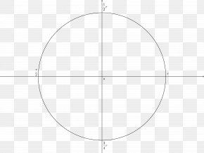 Unit Circle - Circle Angle Point Pattern PNG