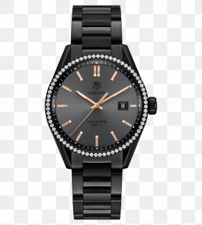 Tag Heuer Mechanical Female Form Black Watch - Chanel J12 TAG Heuer Watch Swiss Made PNG