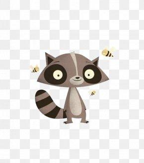 Raccoon - Advent Calendar Idea Calendar Round Drawing PNG