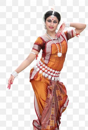 Dancers - Odissi Indian Classical Dance Dance Dresses, Skirts & Costumes PNG