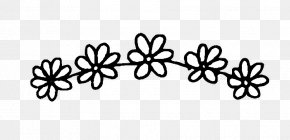 Black And White Flowers - Sticker Wall Decal PicsArt Photo Studio PNG