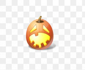 Cute Pumpkin Head - Emoticon Halloween Jack-o-lantern Pumpkin Icon PNG