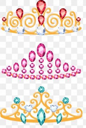 Crown Princess - Crown Cartoon Diadem Tiara PNG