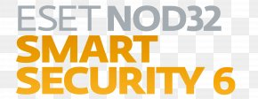 Security - ESET Internet Security ESET NOD32 Antivirus Software Computer Security PNG