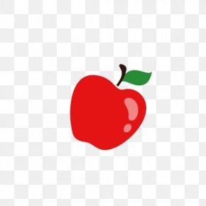 Vector Cartoon Apple - Apple Cartoon PNG