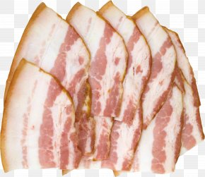 Bacon - Bacon Meat Pork PNG