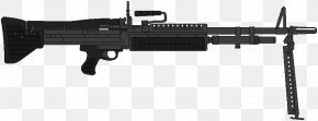 Machine Gun - Trigger M60 Machine Gun Firearm Weapon PNG