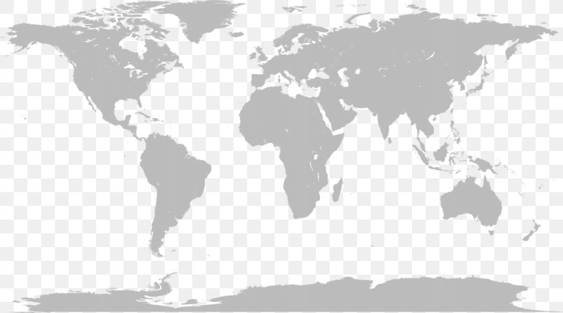 World Map, PNG, 1024x570px, United States, Black And White ...