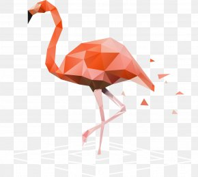 Vector Hand-painted Flamingos - Flamingo Wall Decal Sticker Birthday PNG