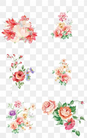 Floral Watercolor - Floral Design Flower Watercolor Painting PNG