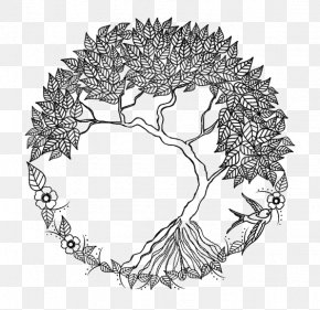 Trees LOGO - Tree Of Life Drawing Doodle PNG