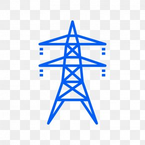 Home Service - Electricity Transmission Tower Overhead Power Line Utility Pole Electric Power Transmission PNG