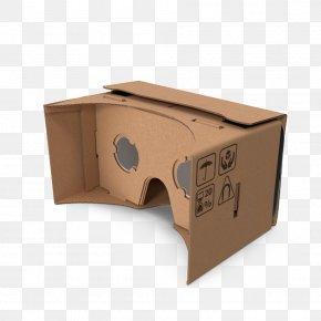 Google Cardboard Headset - Head-mounted Display Google Cardboard Virtual Reality 3D Computer Graphics PNG