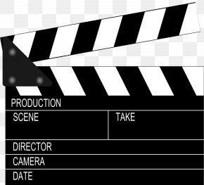 Movie Film - Clapperboard Film Director Clip Art PNG