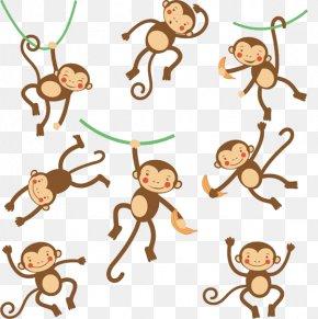 Cartoon Monkey - Monkey Cartoon Illustration PNG