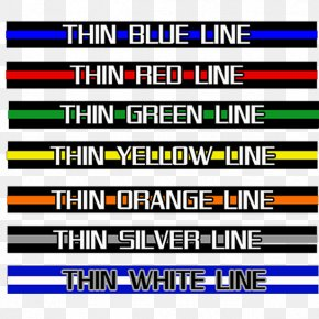 United States - Thin Blue Line The Thin Red Line Flag Of The United States Meaning PNG