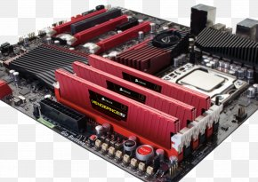 Computer - Graphics Cards & Video Adapters Motherboard Computer Hardware DDR3 SDRAM Computer System Cooling Parts PNG