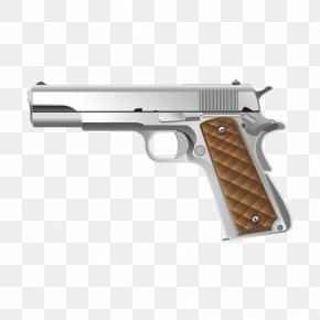 Weapon Weapon - M1911 Pistol Firearm Handgun PNG