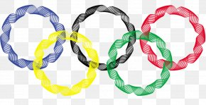 The Olympic Rings - 2018 Winter Olympics 2016 Summer Olympics 2020 Summer Olympics 1996 Summer Olympics Youth Olympic Games PNG