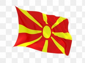 Flag - Flag Of The Republic Of Macedonia Vergina National Flag PNG