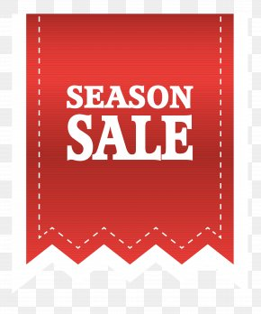 Red Season Sale Label Clipart Image - Klamath Basin Brewing Co Sales Label Sticker PNG