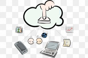 Click The Download Button - Download Drawing Information And Communications Technology PNG