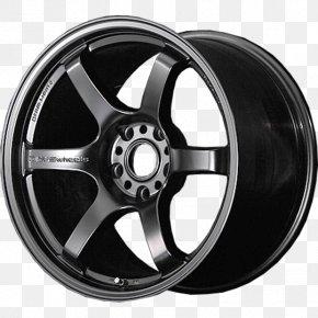 Car - Alloy Wheel Car Rays Engineering Tire Rim PNG
