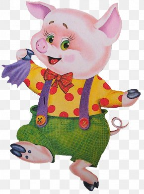 3 Little Pigs - Domestic Pig The Three Little Pigs Fairy Tale PNG