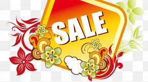 The Trend Of Discount Sales Tag - Text Box Clip Art PNG