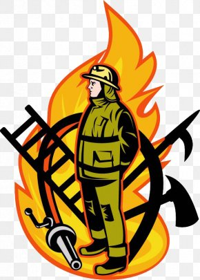 Features Fireman Icon - Firefighter Fire Hose Royalty-free Clip Art PNG
