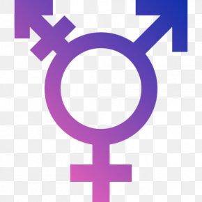 Symbol - Gender Symbol Transgender LGBT Symbols Transsexualism PNG