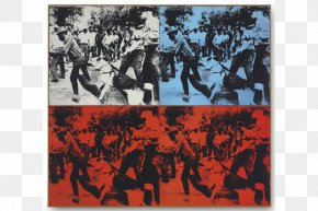Painting - Race Riot Art Painting Christie's Screen Printing PNG