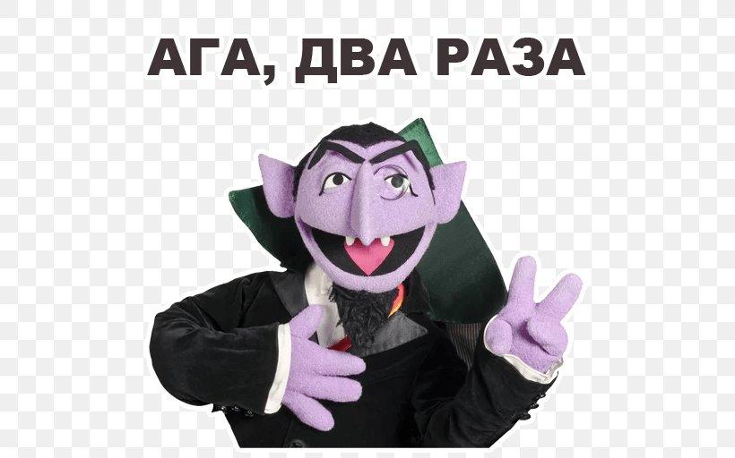 Count Von Count Elmo Big Bird Ernie Dracula Png 512x512px