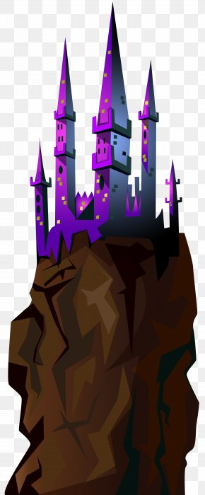 Castle On The Rock Transparent Clip Art Image - Image File Formats Lossless Compression PNG